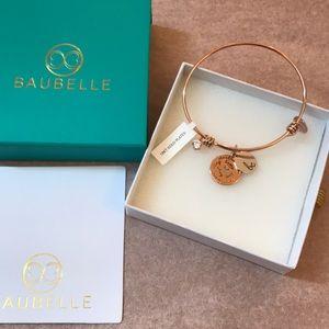 18K rose gold plated Baubelle bracelet